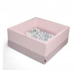 Bällebad rosa inkl. 200 Bälle