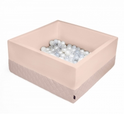 Bällebad puderrosa inkl. 200 Bälle