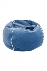 Kinderzimmer Sitzsack blau