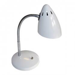 Schreibtischlampe weiß