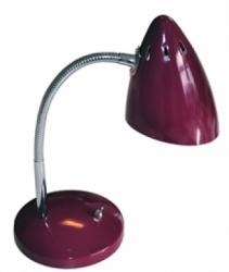 Schreibtischlampe aubergine