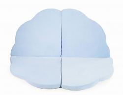 klappbare Spielmatratze Wolke hellblau