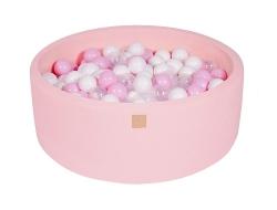 Bällebad rosa inkl. 200 Bälle rund
