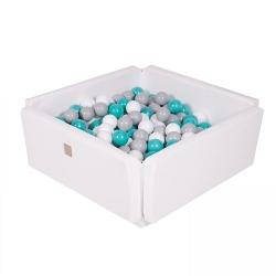 Outdoor Bällebad / Spielmatte weiß