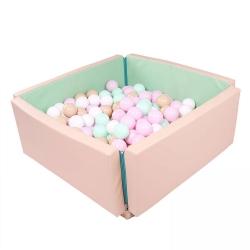 Outdoor Bällebad / Spielmatte rosa