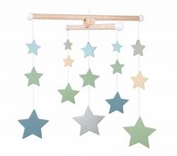 Holzmobile Sterne