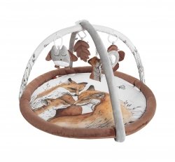 Spielbogen Fuchs braun