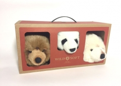 Tierköpfe Box 3 Bären