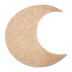 Baumwollteppich Iva Mond beige