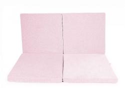 klappbare Spielmatratze Quadrat rosa