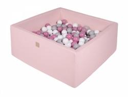 Bällebad rosa Quadrat inkl. 200 Bälle