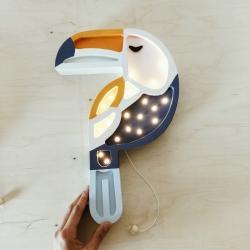 LED Lampe Tukan Holz