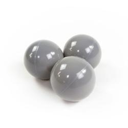 Zusatzbälle für Bällebad grau