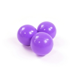 Zusatzbälle für Bällebad perlviolett