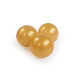 Zusatzbälle für Bällebad gold