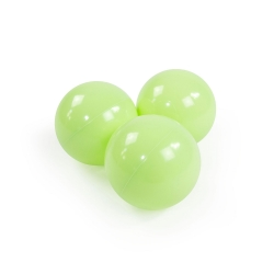 Zusatzbälle für Bällebad hellgrün