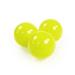 Zusatzbälle für Bällebad lime