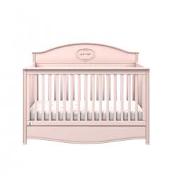 Bellamy Babybett rosa 70x140 inkl. Schublade und Rausfallschutz