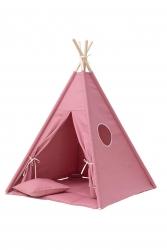 Tipi inkl. Spielmatte / Kissen blush pink