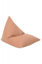 Sitzsack warm beige Plain