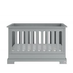 Babybett Ines grau 60x120 cm