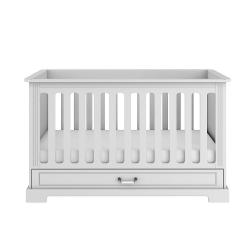 Babybett Ines weiß 70x140 umbaubar