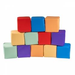 Soft Bausteine Color bunt 12-er Set