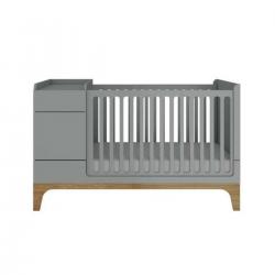 multifunktionales /mitwachsendes Babybett UP! grau