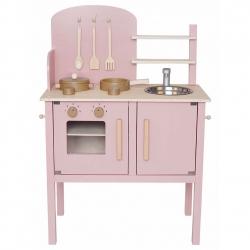 Jabadabado Holz Spielküche rosa