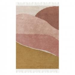 Little Dutch Teppich Horizon rosa-ocker