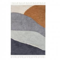 Little Dutch Teppich Horizon blau-braun