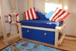 Sofa mit Schublade Pirat