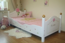 Kinderbett Rosen