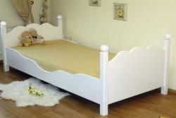 Kinderbett weiß exklusiv 1
