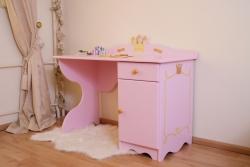 Kinderschreibtisch Prinzessin rosa
