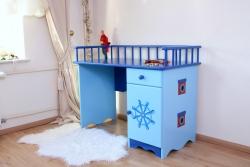 Kinderschreibtisch Pirat blau
