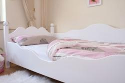 Kinderbett weiß 90x200 cm