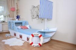 Kinderbett Schiff