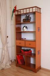 Bücherregal Pirat braun