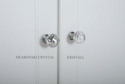 Kleiderschrank weiß Kristallserie 1