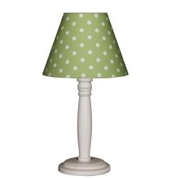 Tischlampe Punkte grün