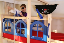 Piraten Hochbett