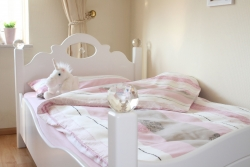 Kinderbett Weiß Kristallserie 1