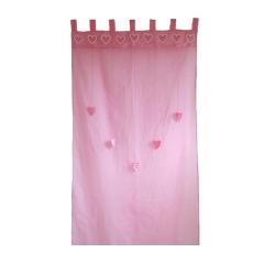 Vorhang rosa Herzen