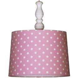 Deckenlampe Punkte rosa