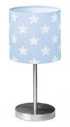 Tischlampe Sterne blau
