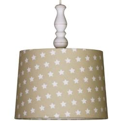 Deckenlampe Sterne beige