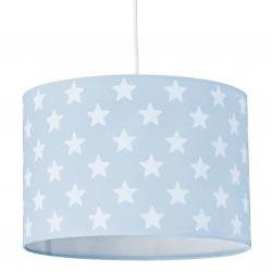 Deckenlampe Sterne blau